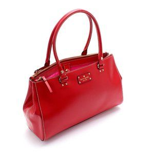 New Kate Spade New York Wellesley Leather Tote !